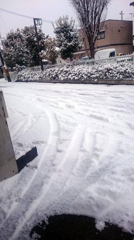 福知山市の雪