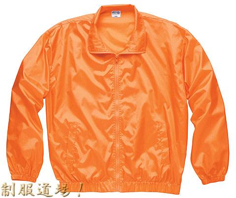 オレンジのスタッフジャンパー