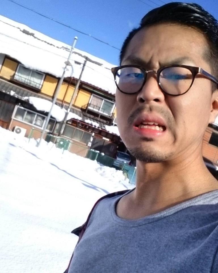 駐車場の雪の量